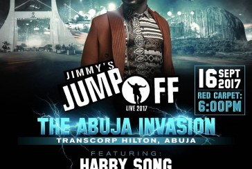 Harrysong, Skuki, Olu Maintain, 9ice, others to perform at 'Jimmy's Jump Off Abuja Edition'