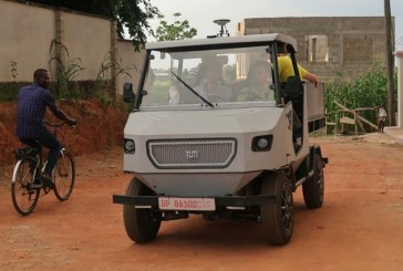 Electric car prototype is built for Africa's rural roads