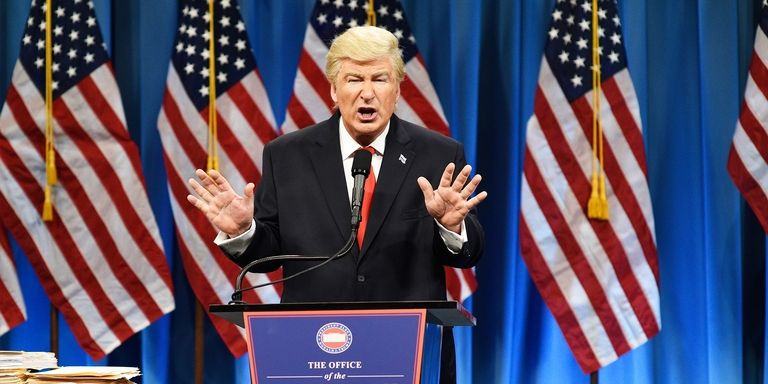 Alec Baldwin Won an Emmy Award for Playing Trump on SNL