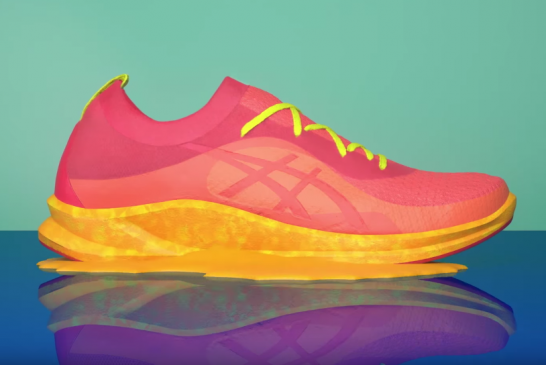 Asics is using Microwave Technology to create custom Midsoles in as little as 15 seconds