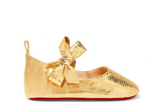 Christian Louboutin Collaborated with Goop, to Launch its first range of Baby Shoes