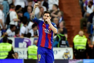 Messi joins 100-goal club in Europe