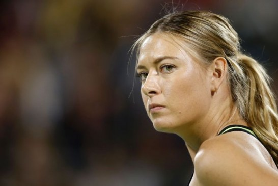 Sharapova knocked out of Moscow event in 1st round
