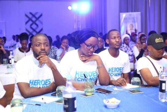 Unilever inspire youths to make a difference through Nigeria's launch of Heroes for Change