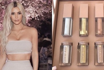 KKW Beauty Teased new Beauty Products, Lip Glosses and Shimmers, and They're So Sparkly
