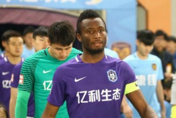 Mikel gets nomination for Player of the Year Award in China
