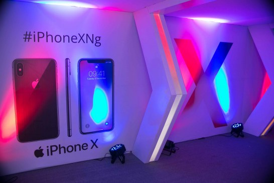 Photos: Denrele Edun, Abimbola Craig, Peace Hyde, others at the launch of the iPhone X in Lagos