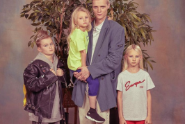 Balenciaga recreates awkward family photos for new campaign