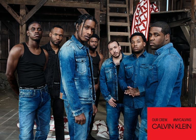 A$AP Mob Stars in Calvin Klein's Latest Campaign