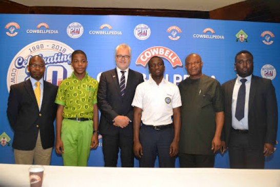 COWBELL Doubles The Prize Money For Cowbellpedia Winners, Introduces New Initiatives To Mark 20 Years Of Support For Mathematics.