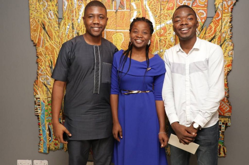 Pass.ng team at TFAA exclusive dinner