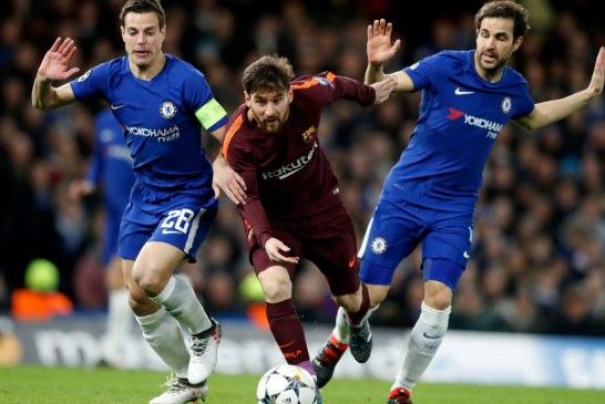 Messi earns Barca a point at the Stamford Bridge