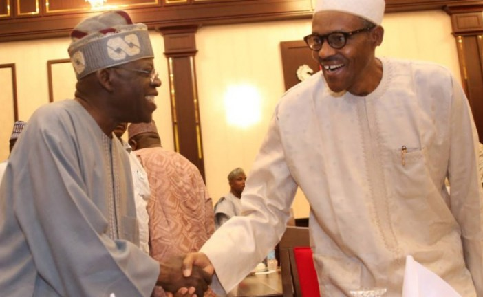 President Muhammadu Buhari has appointed Bola Tinubu to resolve Conflicts within APC