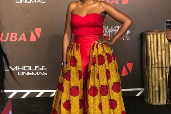 A-list Celebrities Grace  the Black Carpet of 'Black Panther' premiere in Nigeria