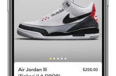 Nike teamed up with Snap and Darkstore to pre-release Air Jordan III 'Tinker' shoes on Snapchat