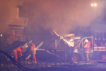 Four dead after blast destroys shop and home in English city of Leicester