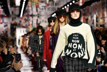 Take a look at the politically charged Dior FW18 fashion show