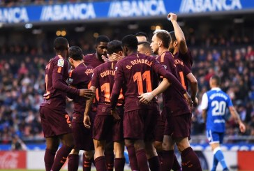 Lionel Messi hat-trick seals La Liga title for Barcelona