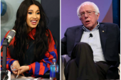 Bernie Sanders Says 'Cardi B Is Right' About Who Really Made America Great Again