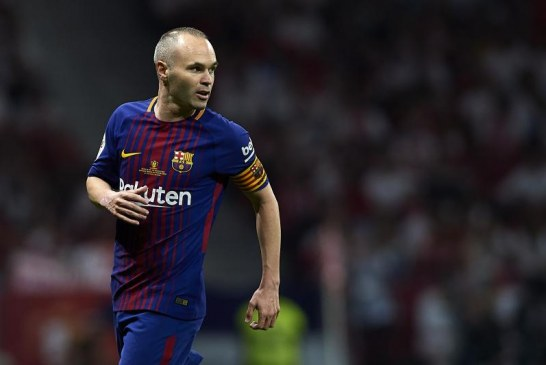 Iniesta Leaves Barcelona At The End Of The Season