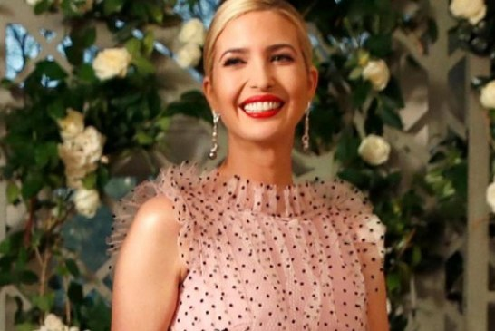 Ivanka Trump Outfit to State Dinner Last Night