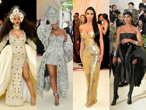 What Celebrity Wore on the Carpet of Met Gala 2018