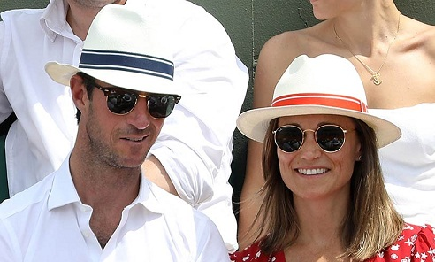 Pippa Middleton Attends the French Open in a Ralph Lauren Sundress Amid Pregnancy Rumors