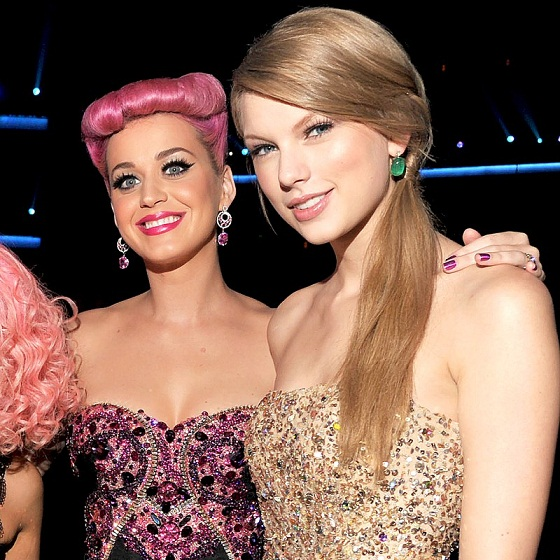 Katy Perry Ends Her Bad Blood with Taylor Swift By Extending an Actual Olive Branch