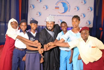 Kannywood Star, Paul Sambo Advises Students To Discover Career Path Early