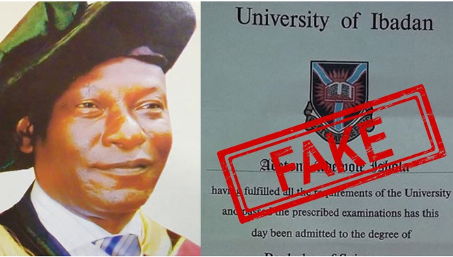 Polytechnic Rector, Olaolu Olugbenga Arrested For Allegedly Forging PhD certificate