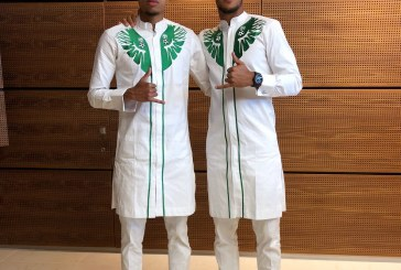 Super Eagles Leave base in Austria For Russia In Matching Outfits