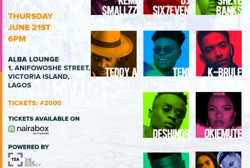 Teddy A,Teni,K- Brule & Others To Headline The Basement Gig(JUNE EDITION).