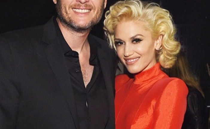 Gwen Stefani and Blake Shelton Were the Cutest Couple at a Friend's Wedding