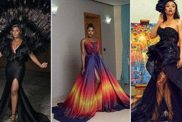 Celebrities Stepped Out for The Met Gala themed Ocean's 8 Premiere in Lagos