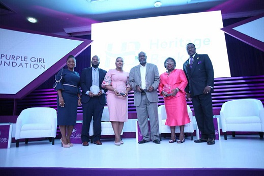 Cross section of Panelists at the Launch of Purple Girl Foundation