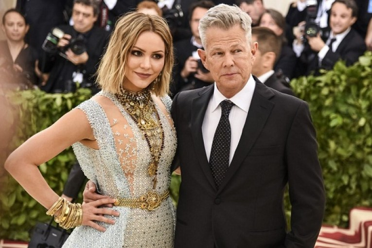 Katharine McPhee and David Foster Are Engaged1
