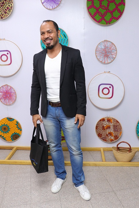 Ramsey Nouah at the launch of Facebook for Creators in partnership with Afrinolly