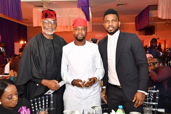 Richard Mofe Damijo, Debola Williams and Joseph Yobo