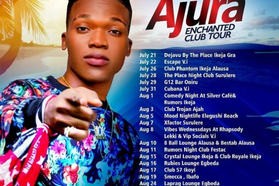 "G-Worldwide's Superstar Singer ""Ajura"" Embarks On Campus/Club Tour"