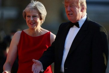 Donald Trump Slams Theresa May's Brexit Strategy As He Lands In The UK