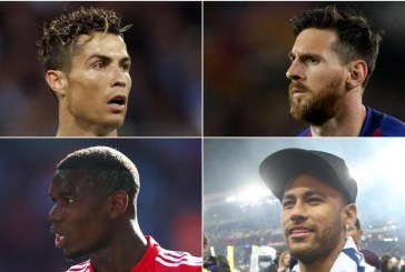 Ronaldo, Messi & Mbappe in but Neymar & Pogba omitted from Best Fifa Men's Player award
