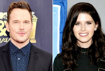 Chris Pratt and Katherine Schwarzenegger Cozy Up at Sunday Church Service