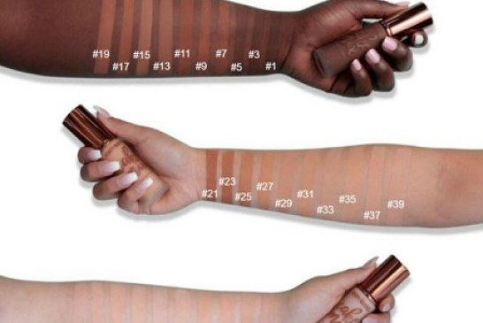 The Internet is loving this Makeup Brand for numbering their Darkest foundation Shades First