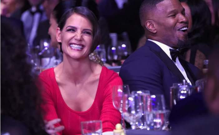 The Subtle Way Katie Holmes Is Showing Her Support for Boyfriend Jamie Foxx