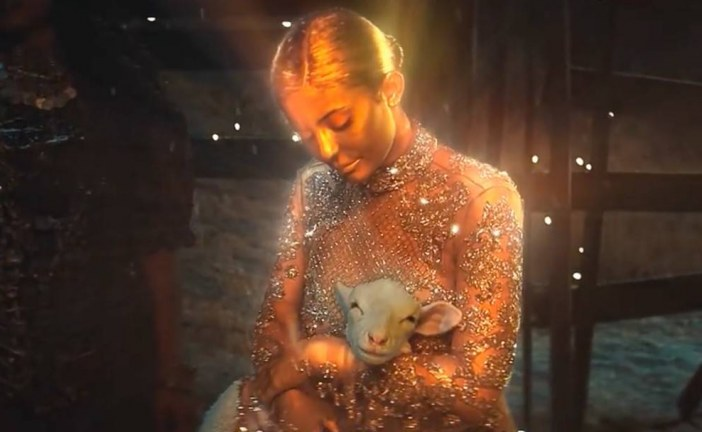 KYLIE JENNER STARS AS VIRGIN MARY IN TRAVIS SCOTT'S VIDEO, 'STOP TRYING TO BE GOD