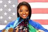 Simone Biles sends message to sexual abuse survivors while sweeping U.S. National Championships