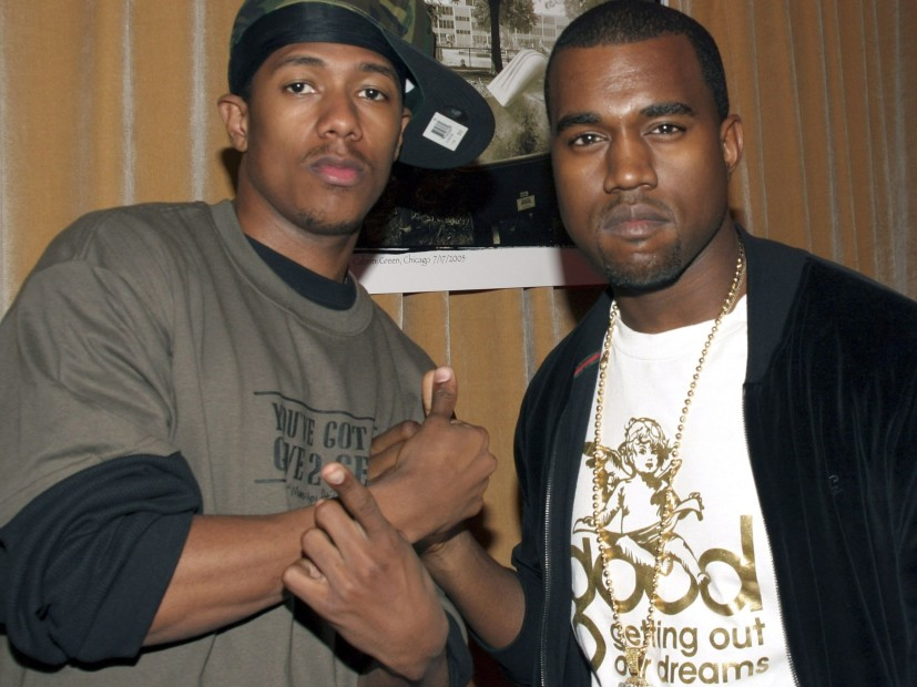 Kanye West And Nick Cannon Squash Beef