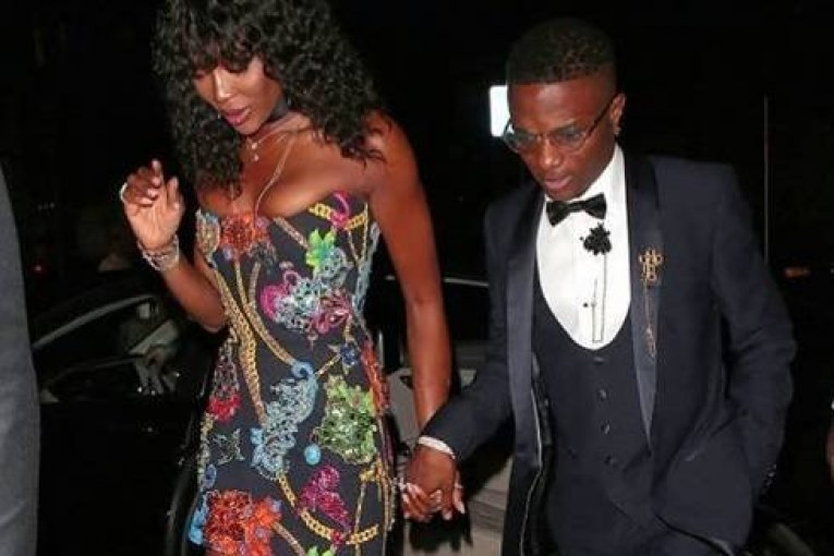 Wizkid and Naomi Campbell New