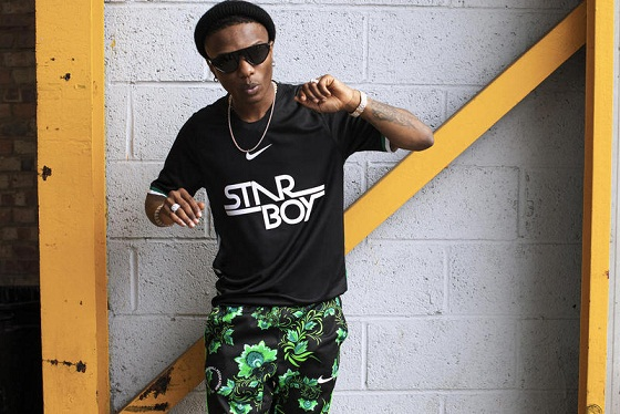 Wizkid Appreciate Fans as His Nike Jersey Sold Out In 10 Minutes