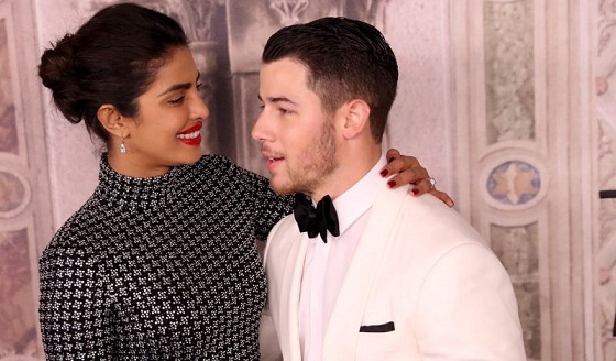 Priyanka Chopra and Nick Jonas Recreate Meghan and Harry's Iconic Engagement Photo